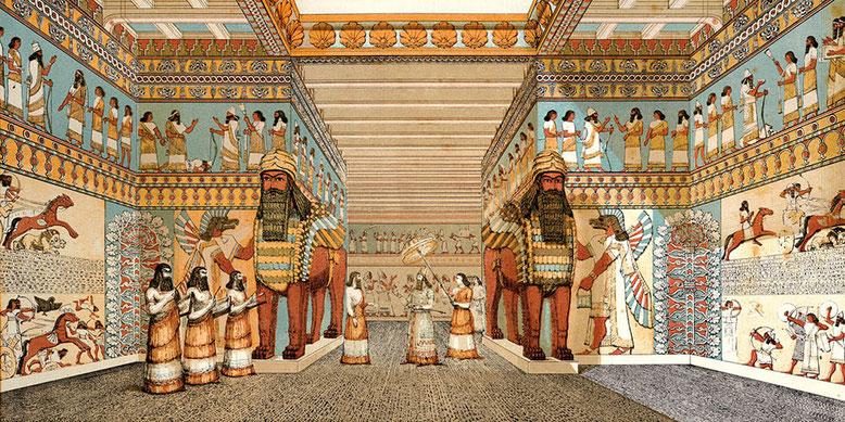 Дворец в Ниневии