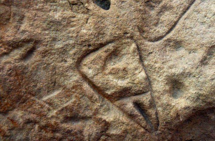 Орнамент на надгробной плите, обнаруженной в Ла-Ферраси