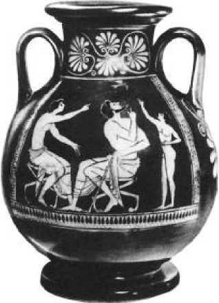 Работа вазописца Евфрония