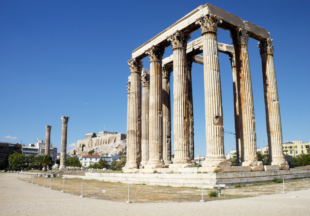 Храм Зевса в Афинах