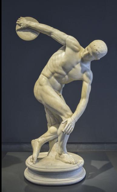 Статуя «Дискобол»