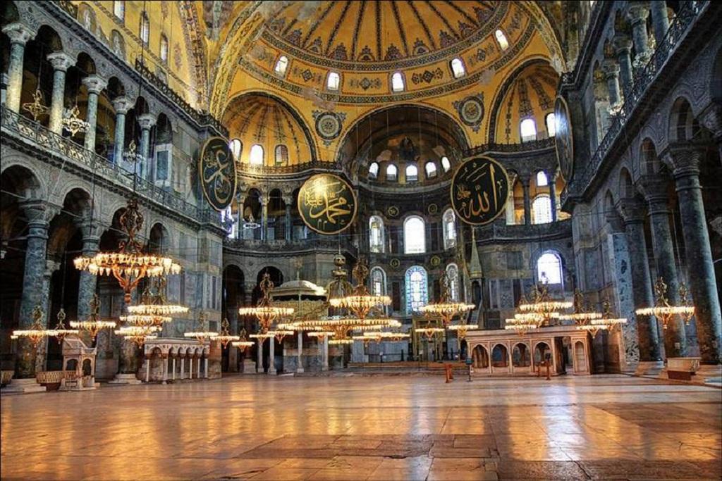 Собор Святой Софии, вид изнутри