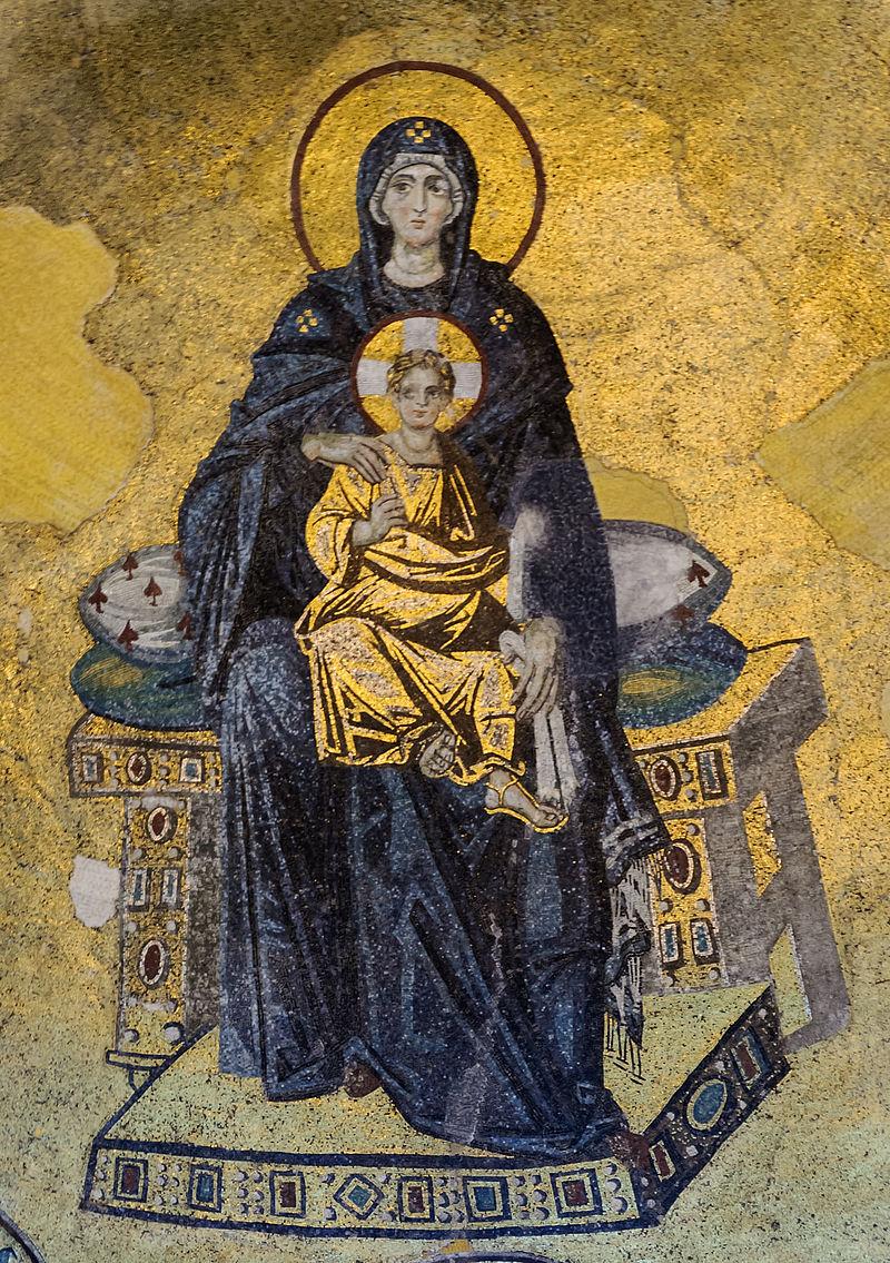 Богородица с Младенцем Иисусом Христом