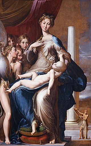Мадонна с длинной шеей