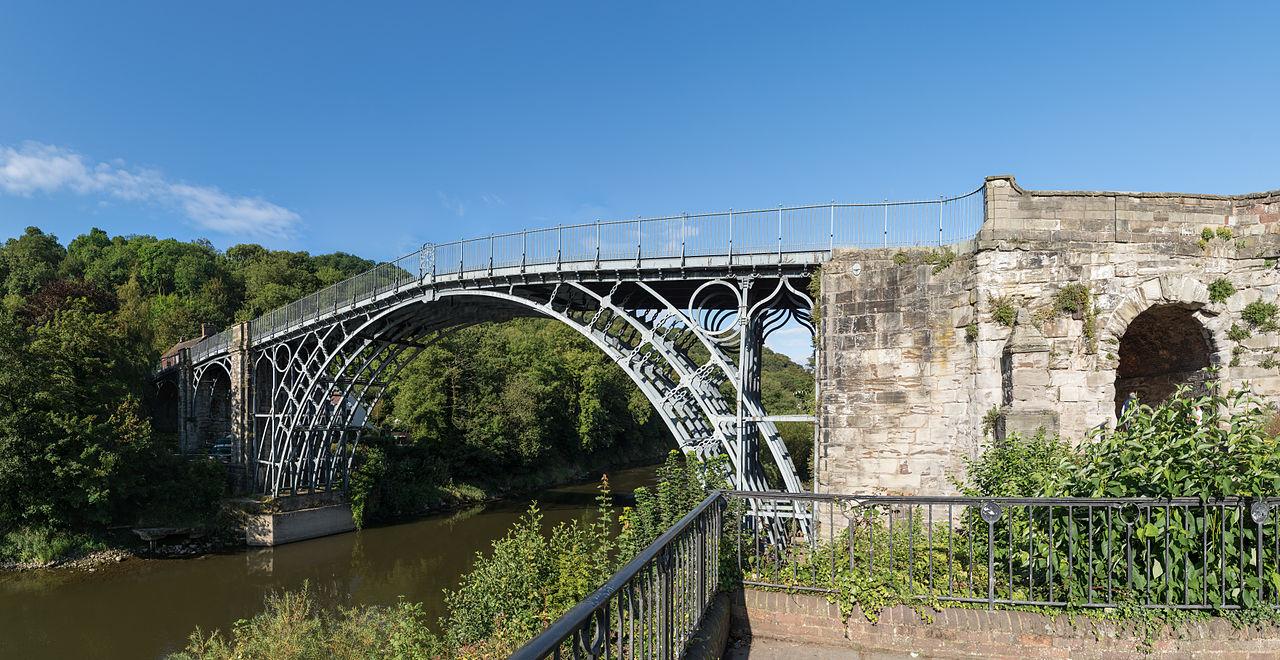 Чугунный мост через Северн