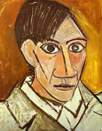 Пикассо, Автопортрет