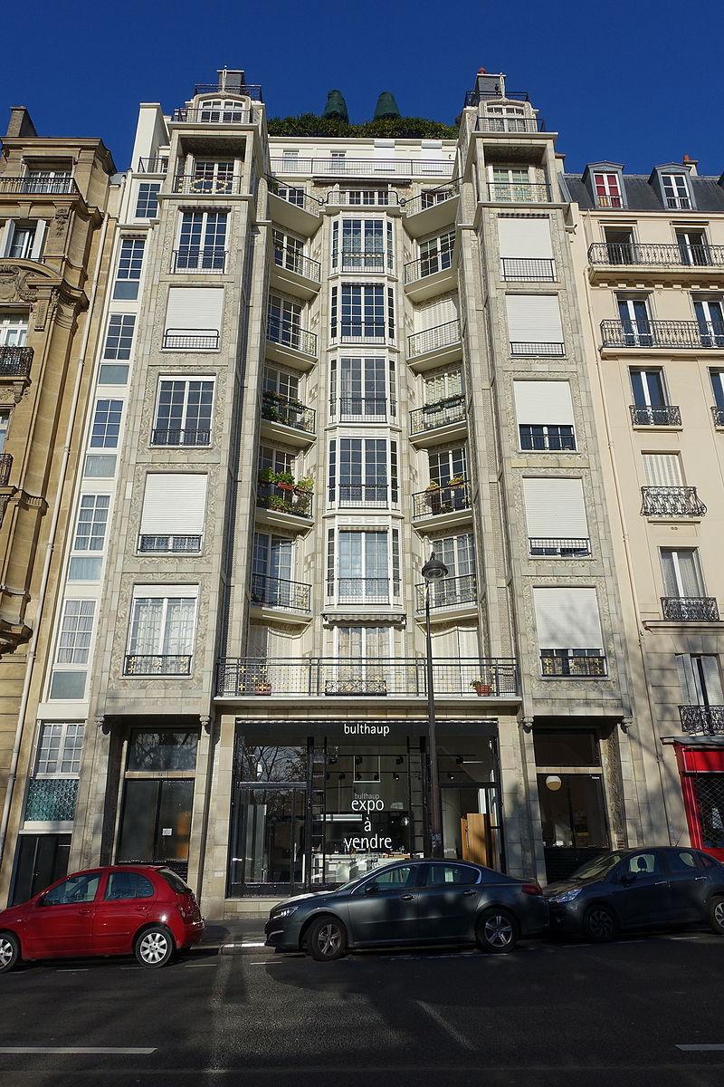 Перре, Дом из железобетона в Париже