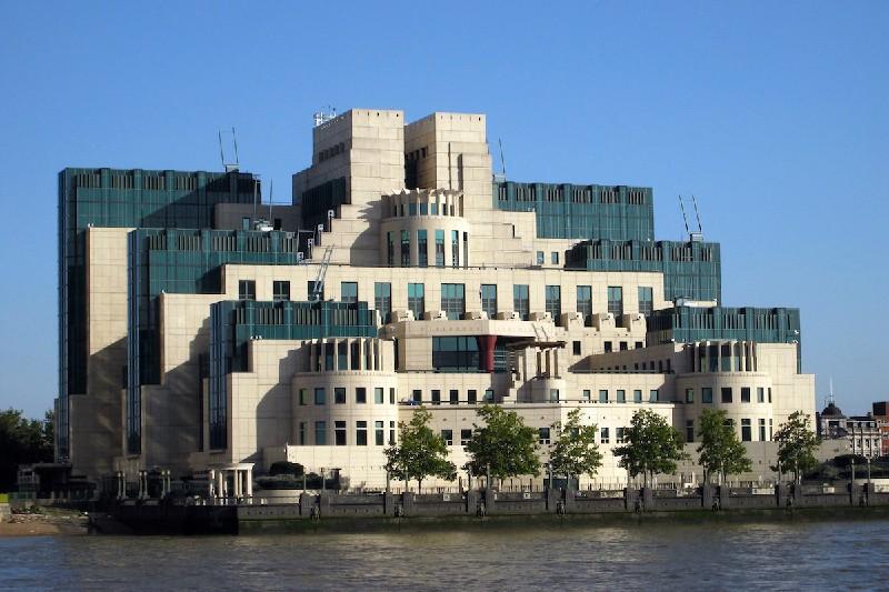 Здание штаб-квартиры британской разведки