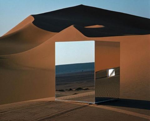Хайнц Мак, Инсталляция в Сахаре