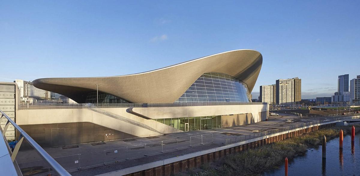 Центр водных видов спорта в Лондоне 1