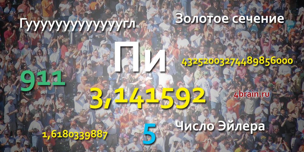Известные числа