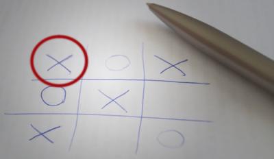 Крестики-нолики 3×3: еще одна стратегия