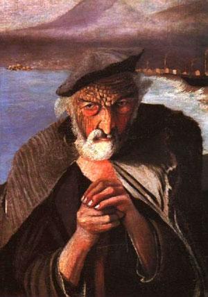 Картина Старый рыбак