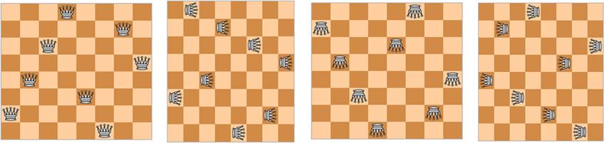 как расставить восемь ферзей на шахматной доске