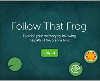 Следуй за лягушкой — онлайн-игра