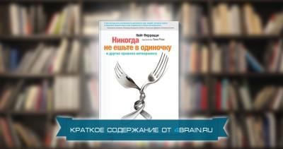 Кейт Феррацци, Тал Рэз «Никогда не ешьте в одиночку и другие правила нетворкинга» — краткое содержание книги