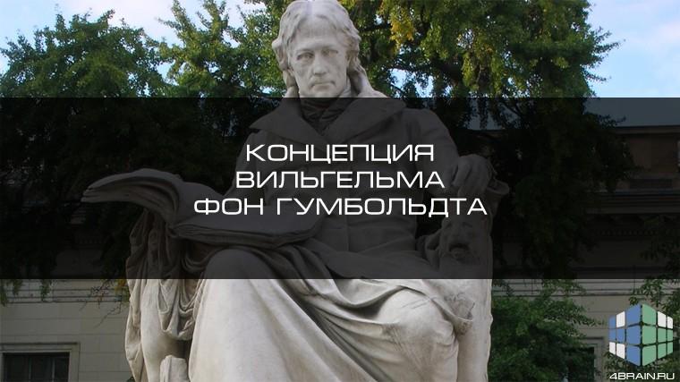 Философские основы лингвистической концепции Вильгельма фон Гумбольдта