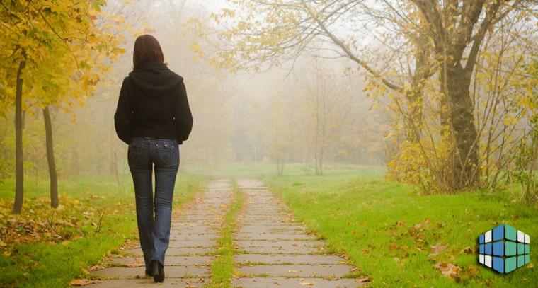 медитация во время ходьбы