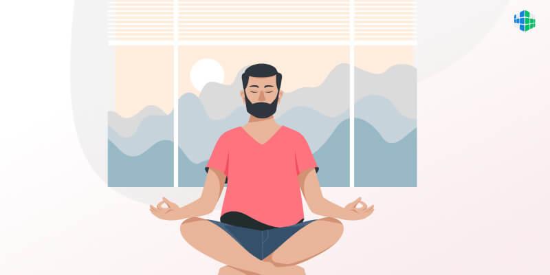 Медитация: как успокаиваться и бороться с негативными мыслями