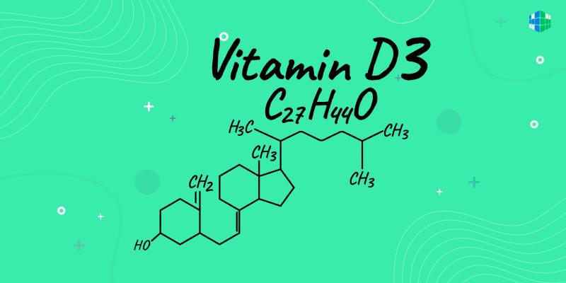 Витамин D3: роль холекальциферола для организма человека