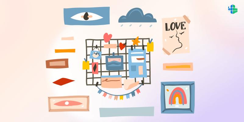 Мудборд: пространство для вдохновения