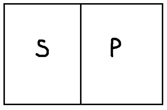 Все s не есть p схема
