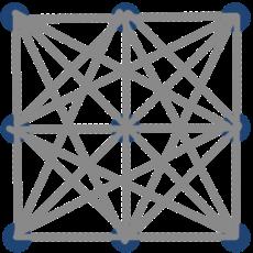 9 точек 4 линиии