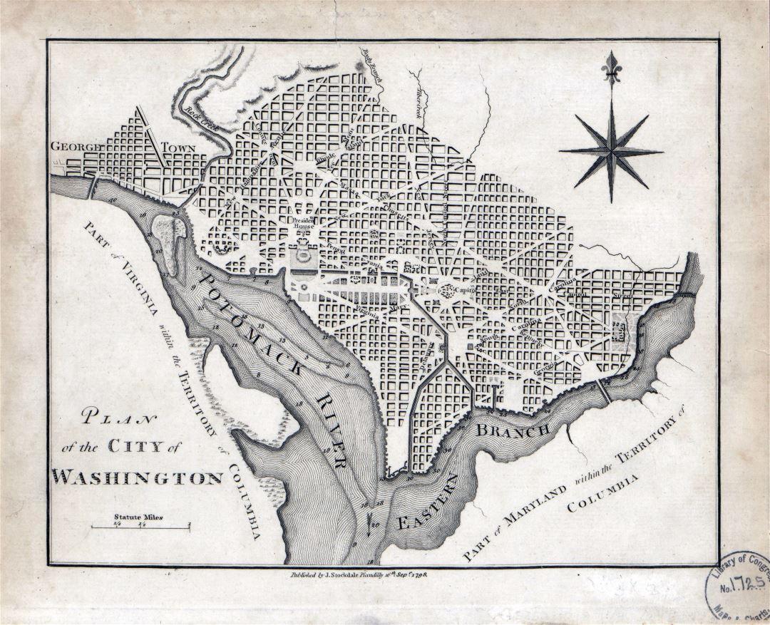 застройки Вашингтона:
